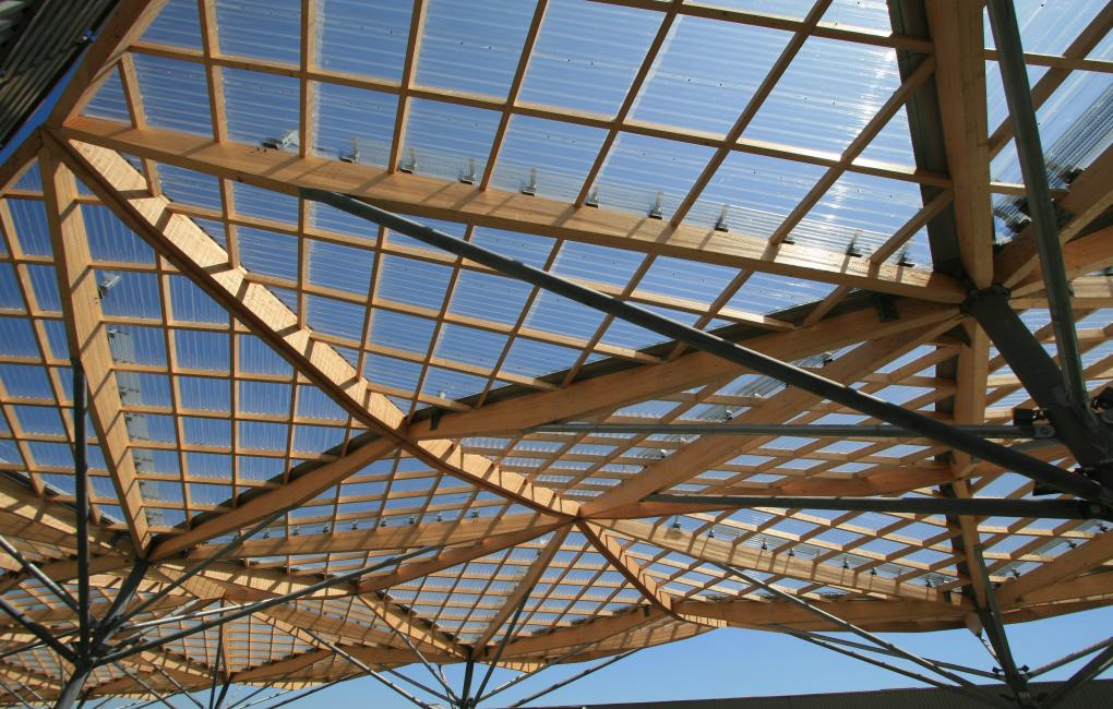 Onduclair PC Polycarbonate roofing sheet