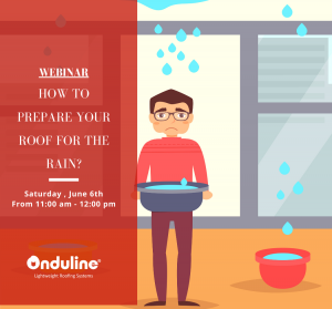 Webinar- Addressing common roof problems in monsoon