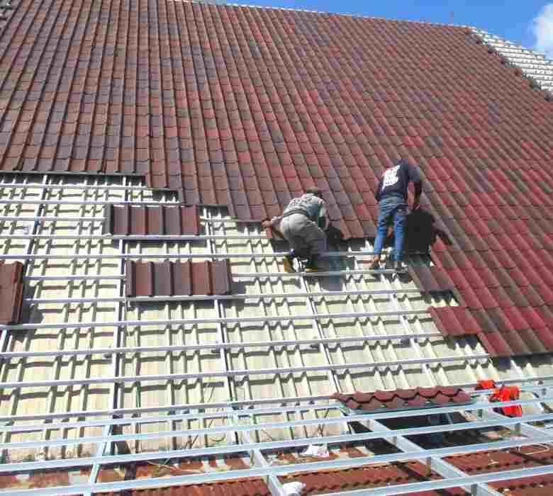 Roof Renovation with ONDULINE